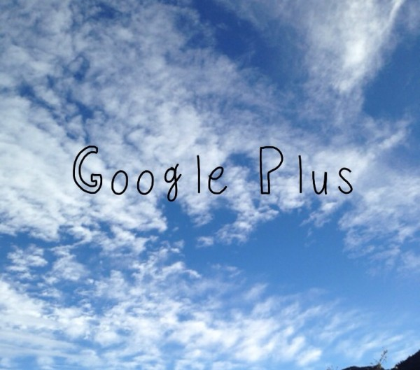 Google plus blog