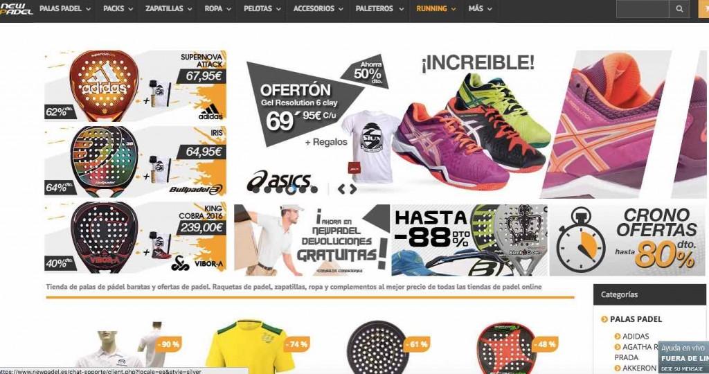 newpadel, tienda de pádel online